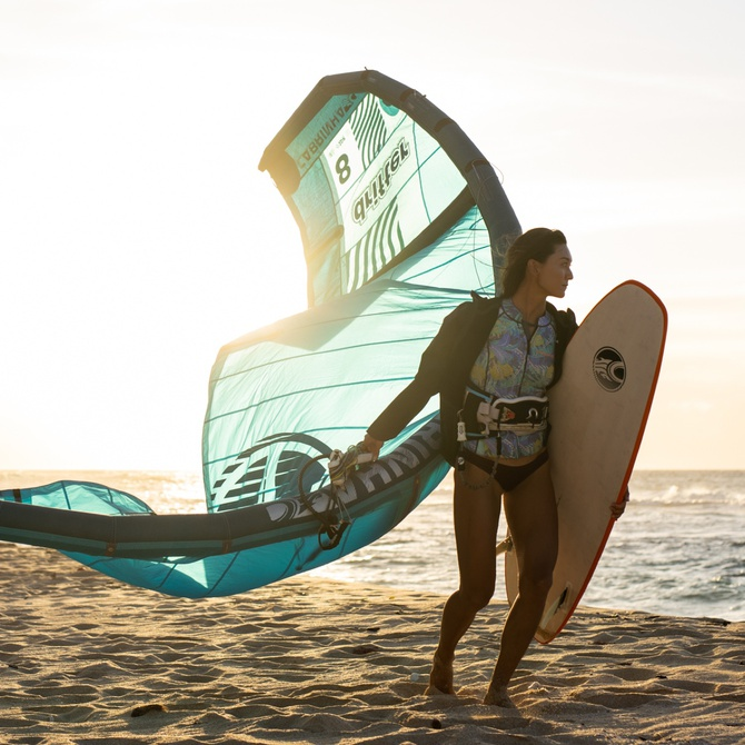 Women's Kite Surfing